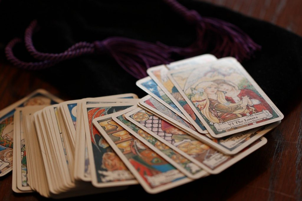 tarot, cards, magic